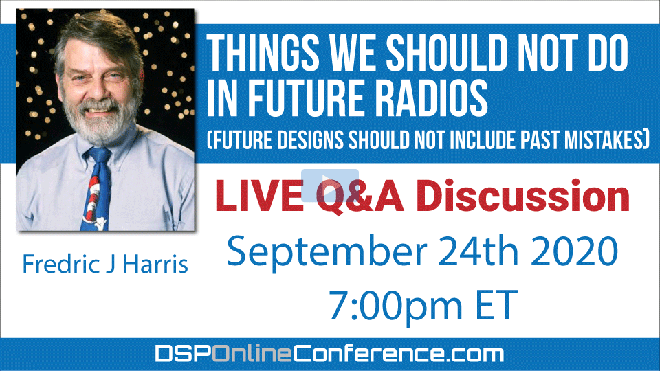 Live Q&A Discussion - Things We Should Not Do In Future Radios