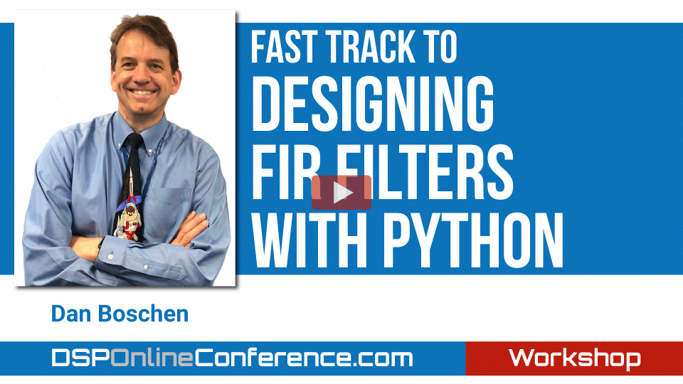 Fast Track to Designing FIR Filters with Python