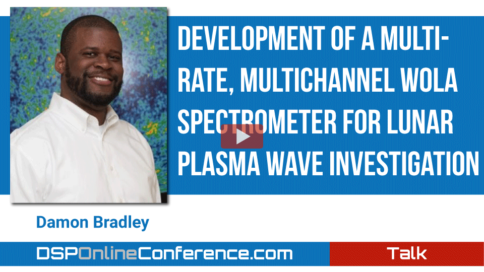 Development of a Multirate, MultiChannel WOLA Spectrometer for Lunar Plasma Wave Investigation