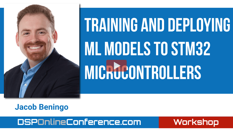 Training and Deploying ML models to STM32 Microcontrollers