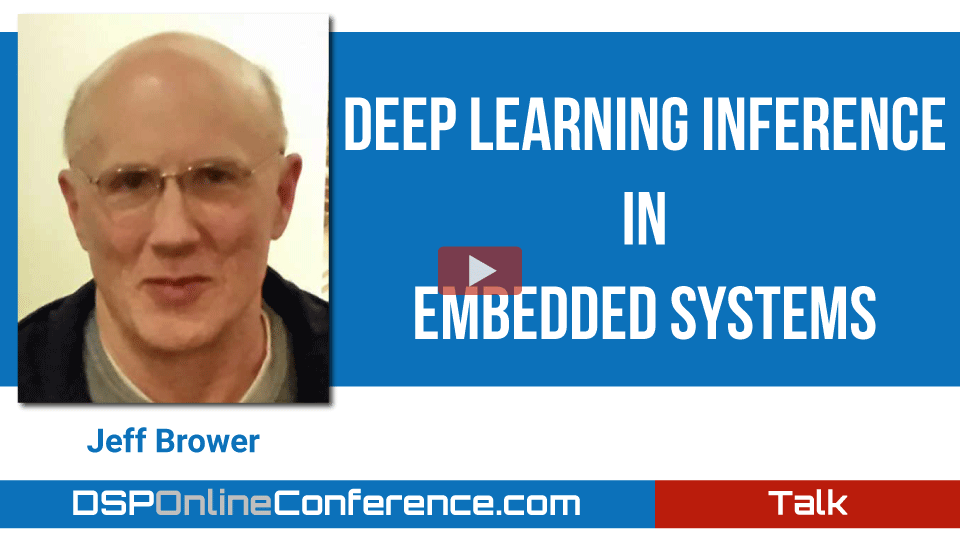 Deep Learning Inference in Embedded Systems