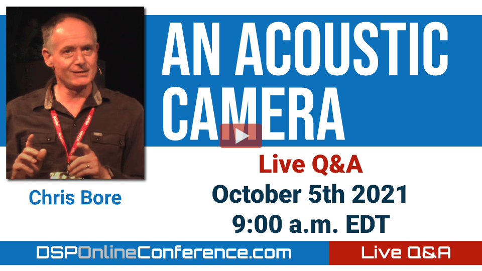 Live Q&A with Chris Bore - An Acoustic Camera