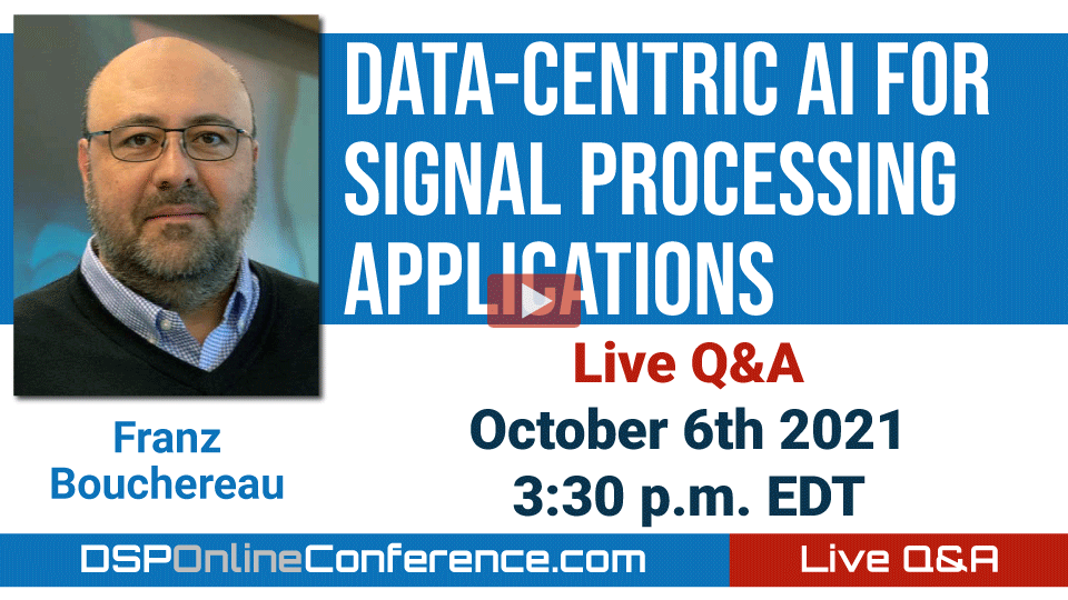 Live Q&A with Frantz Bouchereau - Data-Centric AI for Signal Processing Applications