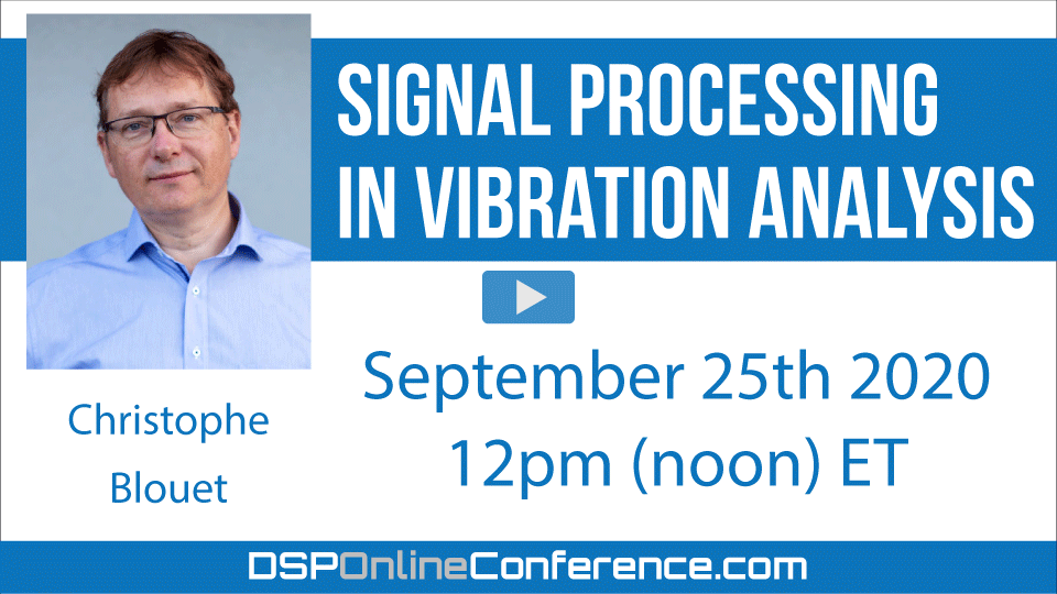 Signal processing in Vibration analysis