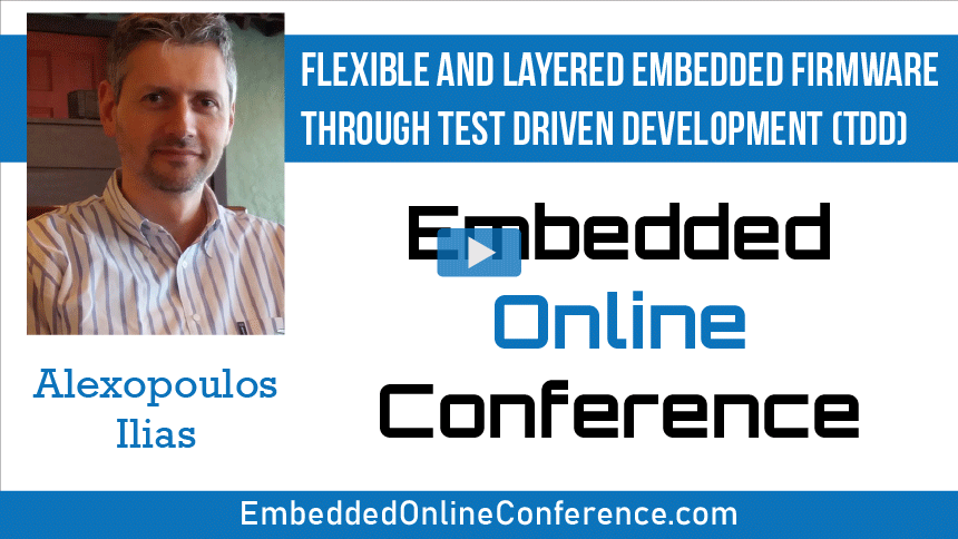 Flexible and Layered Embedded Firmware through Test Driven Development (TDD)