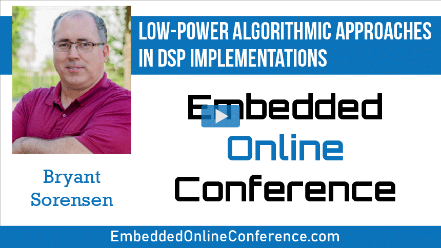 Low-Power Algorithmic Approaches in DSP Implementations