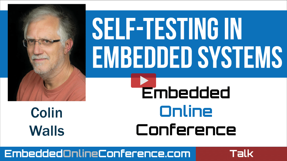 Self-testing in Embedded Systems