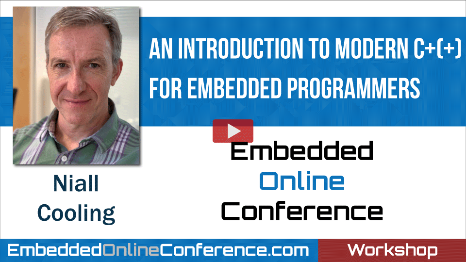 An Introduction to Modern C+(+) for Embedded Programmers