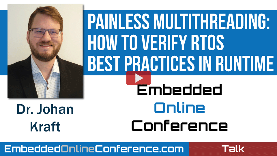 Painless Multithreading: How to Verify RTOS Best Practices in Runtime