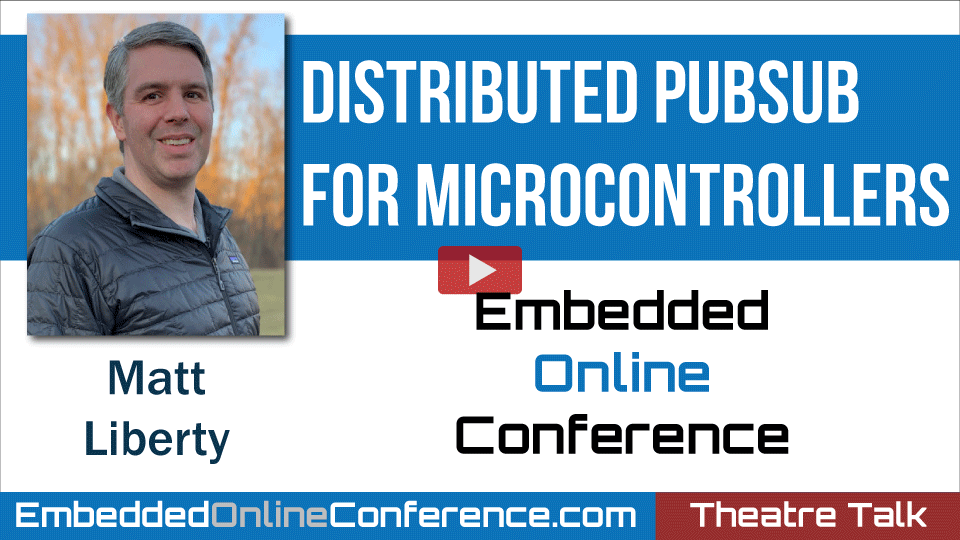 Distributed PubSub for Microcontrollers