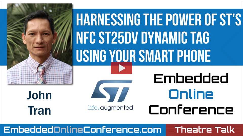 Harnessing the power of ST's NFC ST25DV dynamic Tag using your smart phone