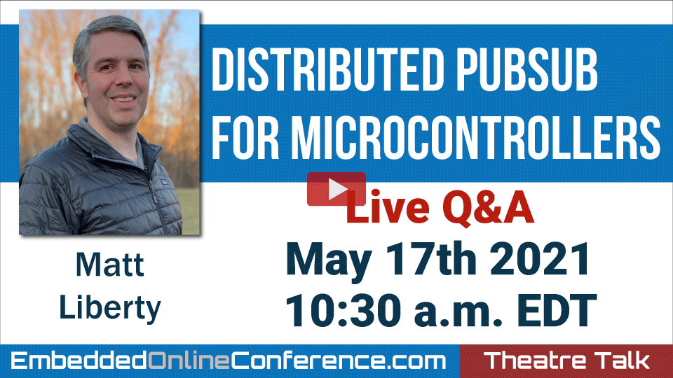 Live Q&A - Distributed PubSub for Microcontrollers
