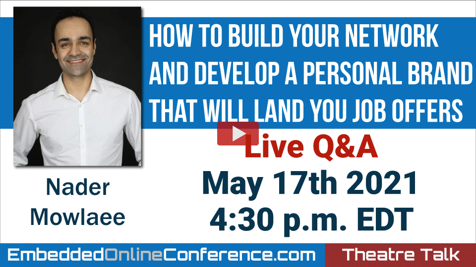 Live Q&A - How To Build Your Network And Develop A Personal Brand That Will Land You Job Offers