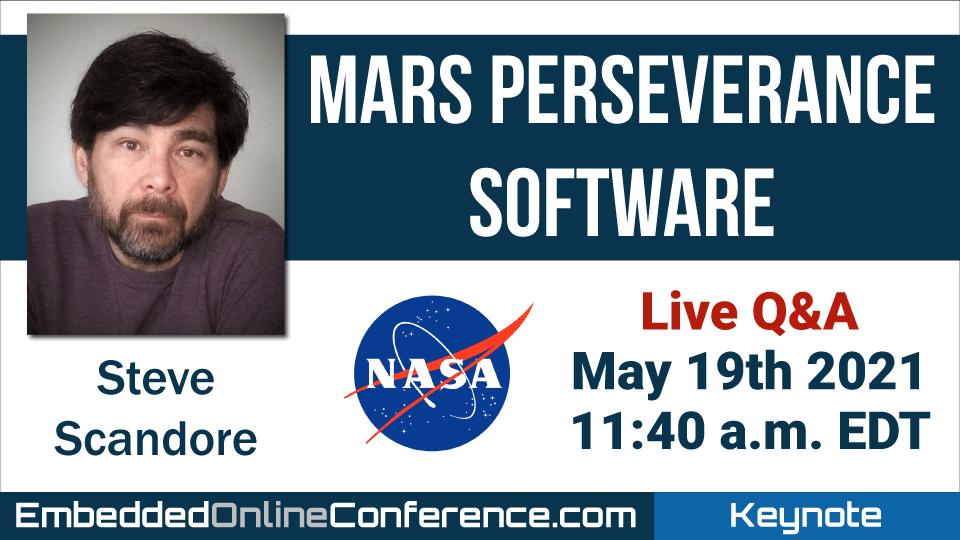 Live Q&A - Mars Perseverance Software