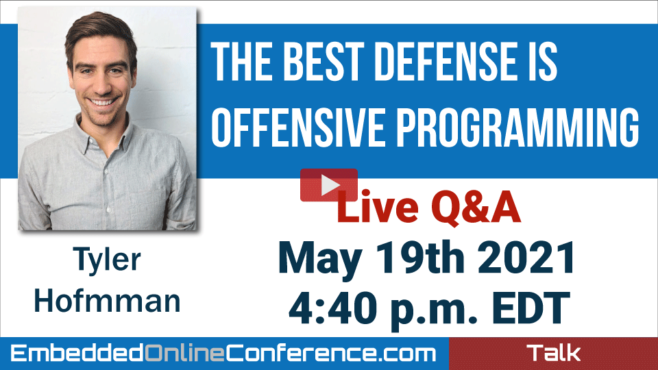 Live Q&A - The Best Defense is Offensive Programming