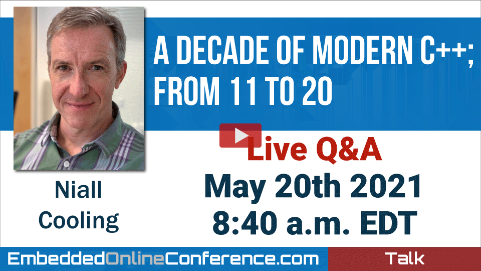 Live Q&A - A decade of Modern C++; from 11 to 20