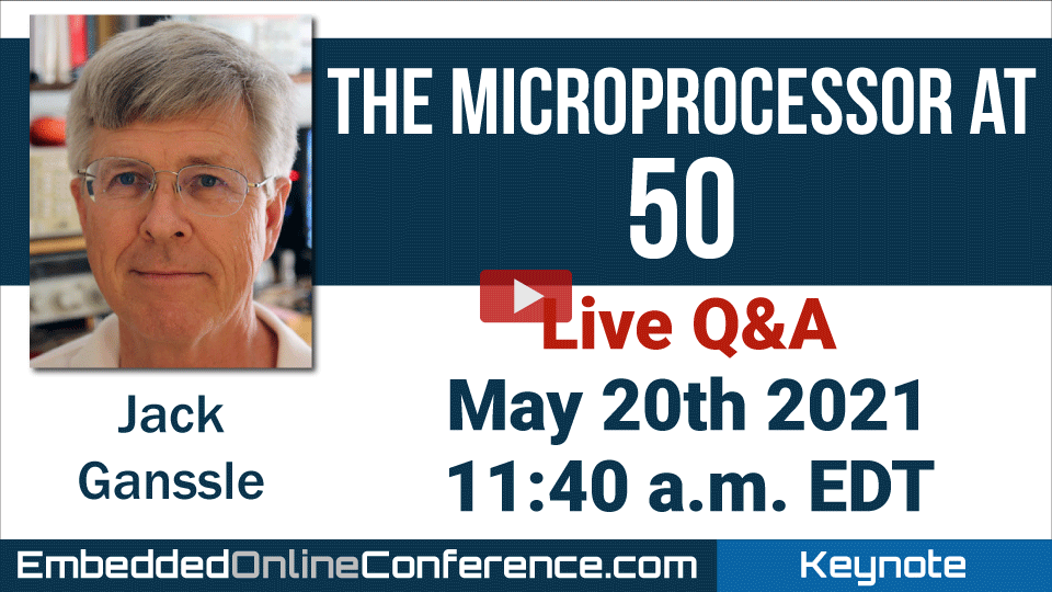 Live Q&A - The Microprocessor at 50