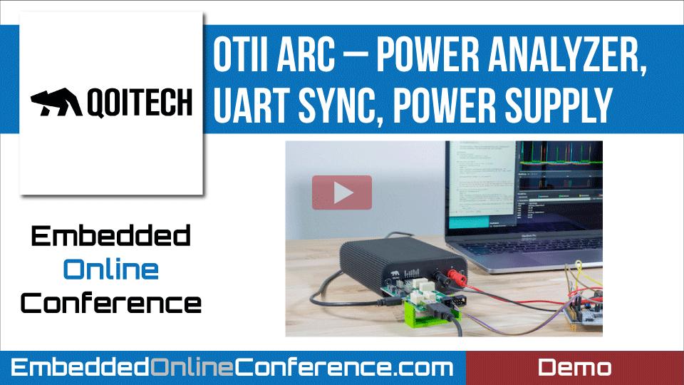 Otii Arc – Power Analyzer, UART Sync, Power Supply