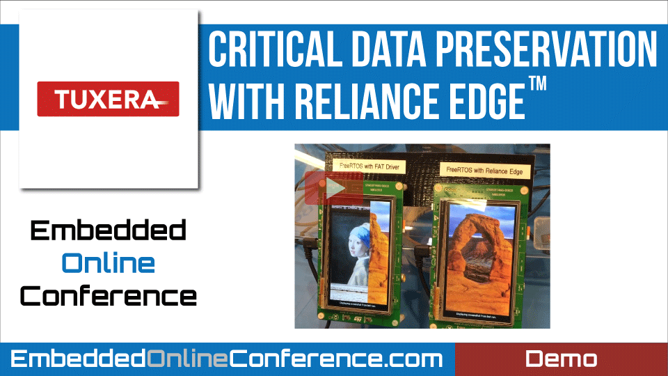 Critical data preservation with Reliance Edge™