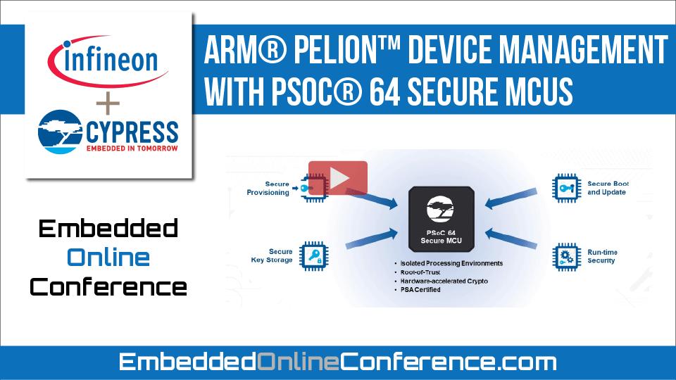 Arm® Pelion™ Device Management with PSoC® 64 Secure MCUs
