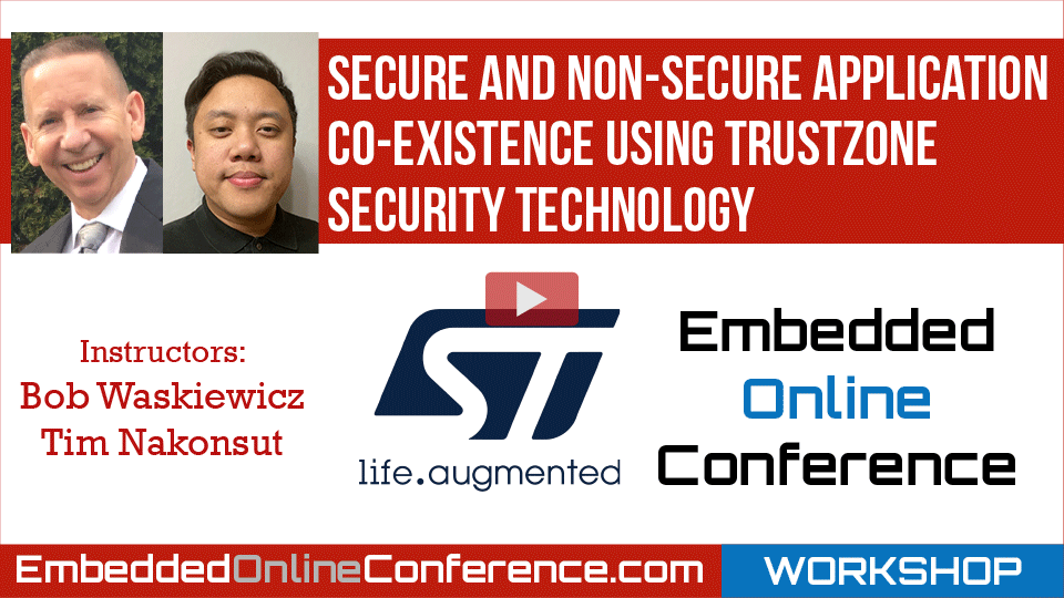 Secure and Non-Secure application co-existence using TrustZone security technology