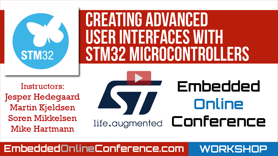 Creating Advanced User Interfaces with STM32 Microcontrollers