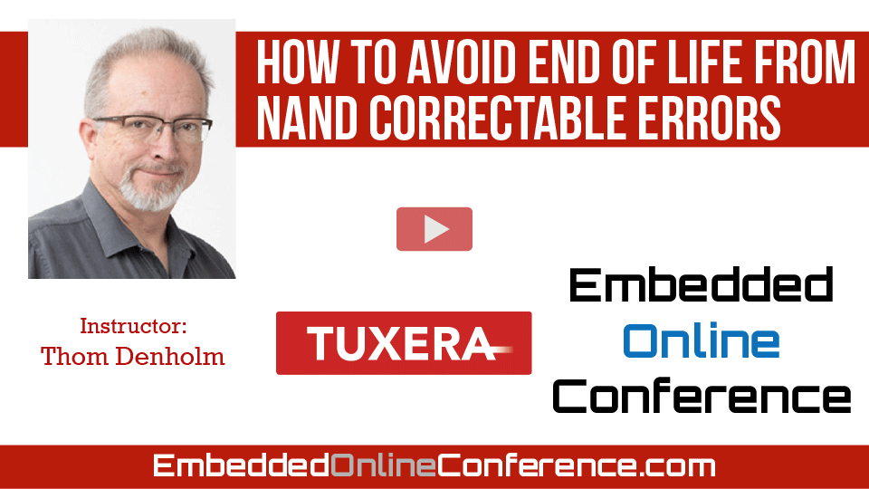 How to avoid end of life from NAND correctable errors