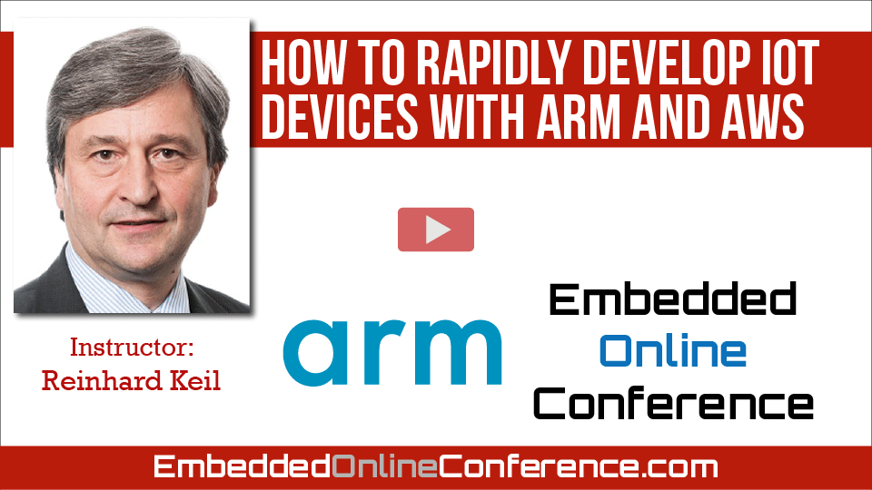 How to Rapidly Develop IoT devices with Arm and AWS