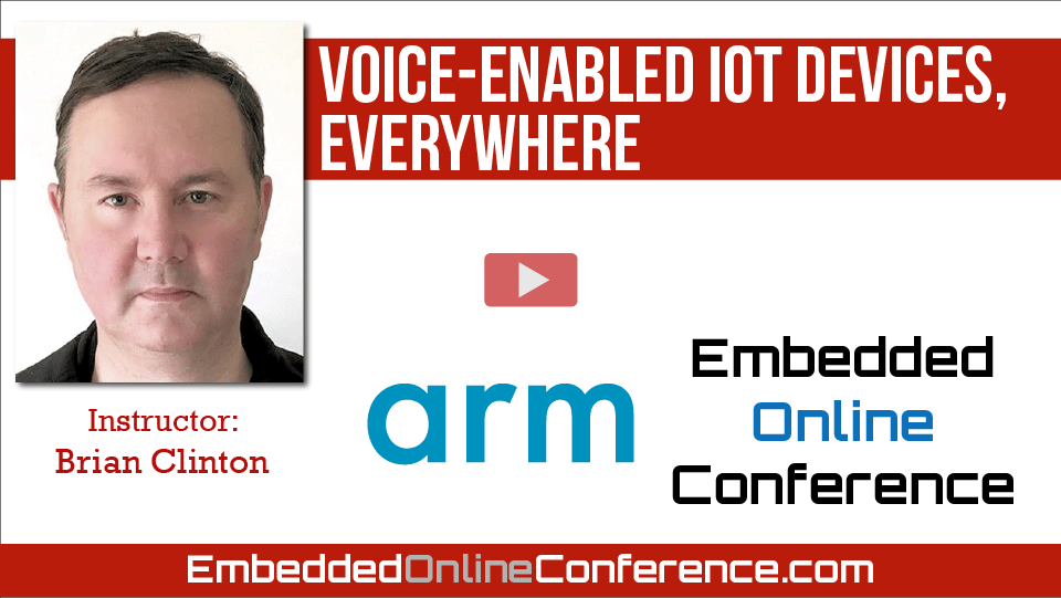 Voice-enabled IoT devices, everywhere