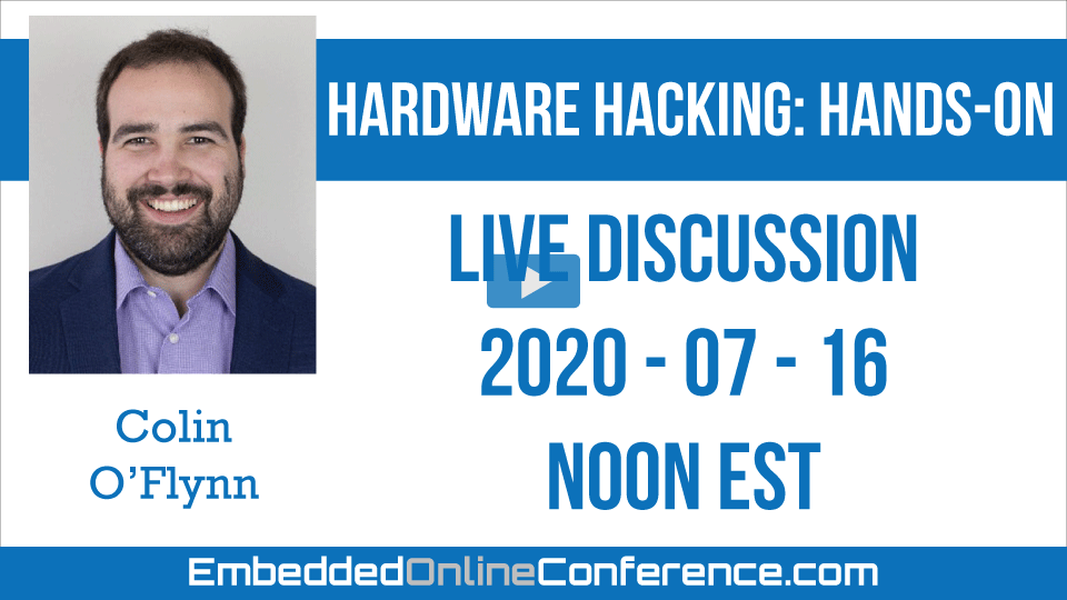 Live Discussion - Hardware Hacking: Hands-On
