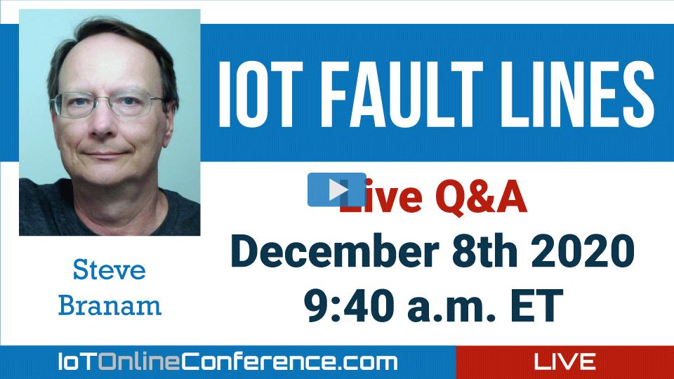 Live Q&A - IoT Fault Lines