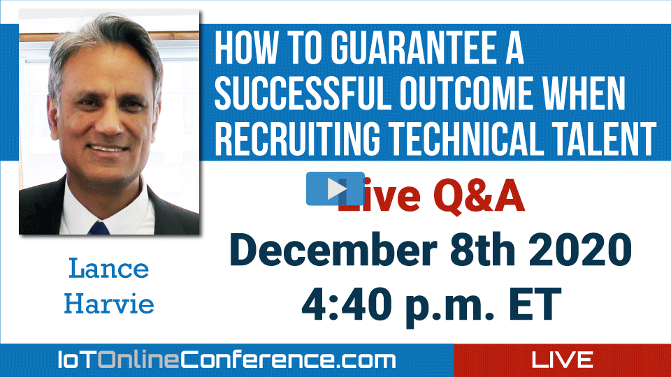 Live Q&A - How to Guarantee a Successful Outcome When Recruiting Technical Talent