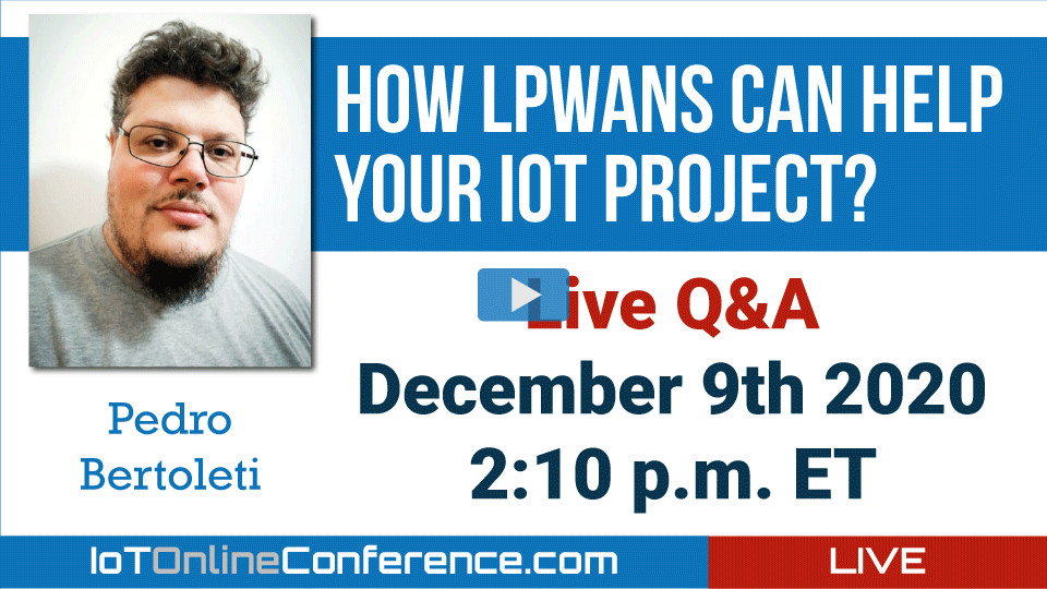 Live Q&A - How LPWANs can help your IoT project